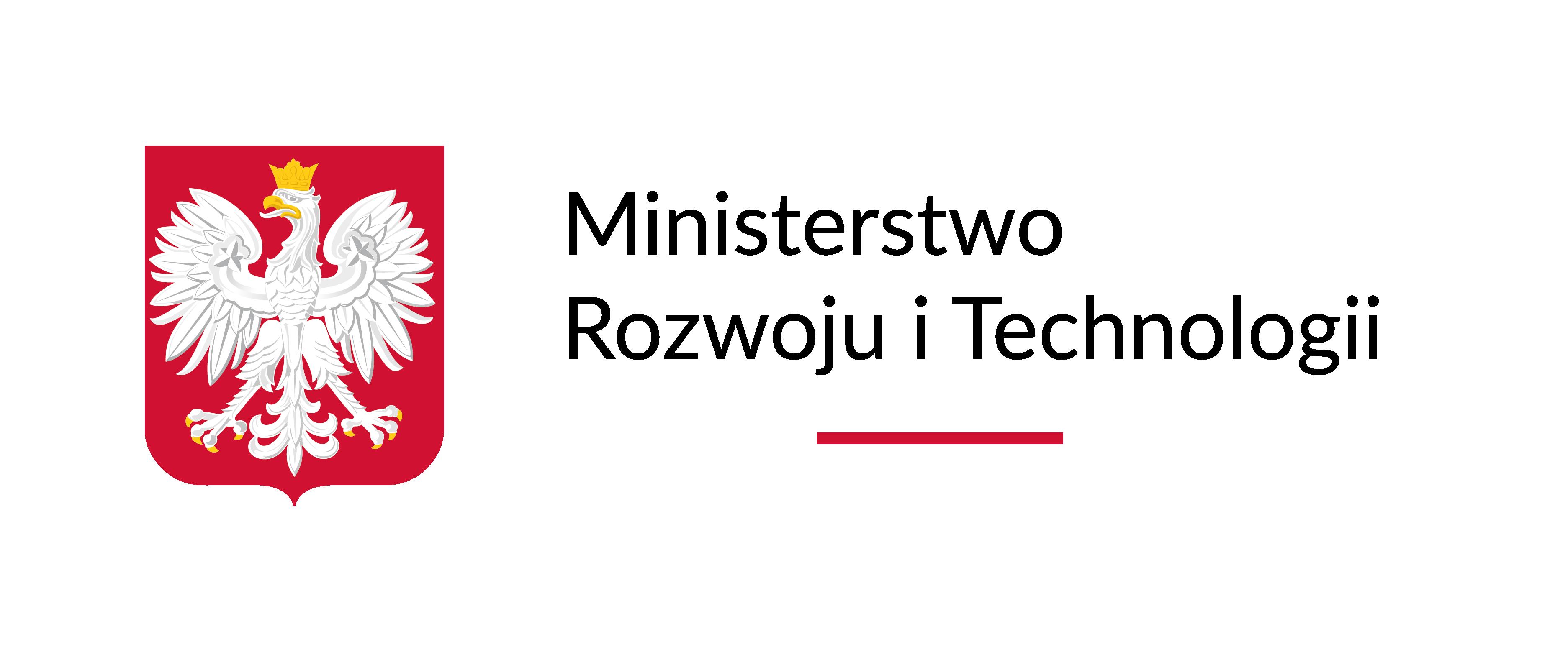 Logo Ministerstwo Rozwoju i Technologii